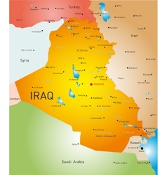 Iraq country vector image vector image