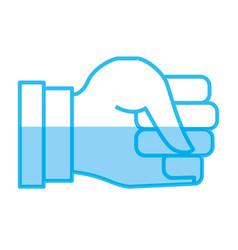 Hand gesturing symbol vector