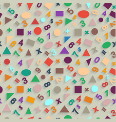 Geometric shapes and figures vector