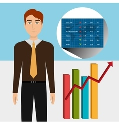 Financial market and stock market vector