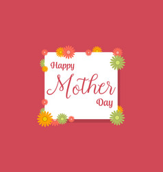 Background of mother day collection vector