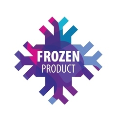 Logo frozen vector