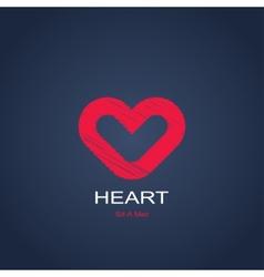 Symbol of heart vector