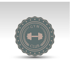 Vintage isolated badge vector