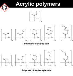Polymers of acrylic and methacrylic acid vector