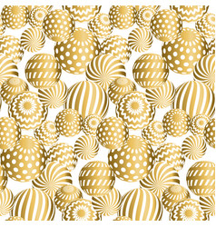 Abstract beads seamless pattern vector