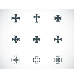 choppers crosses vector image