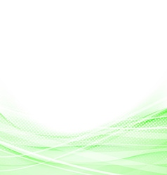 Light green speed swoosh line abstraction shadow vector