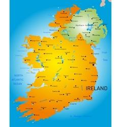 Ireland vector image