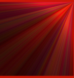 red abstract ray background design - graphic from vector image
