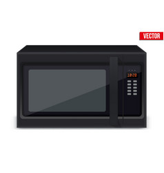 sample microwave oven vector image
