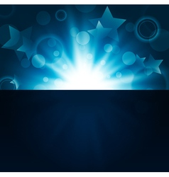 abstract bright night background vector image