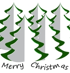 Chistmas tree vector image