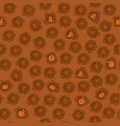 christmas sweet desserts vector image