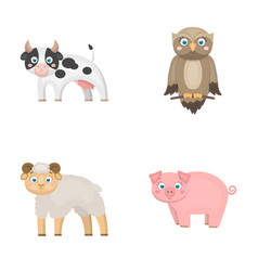 forest ecology toys and other web icon in vector image