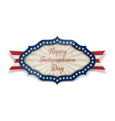 happy independence day national banner template vector image vector image