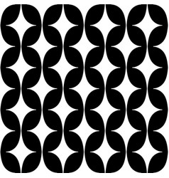 pattern with curved rhombus vector image vector image