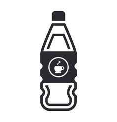 Coffee bottle vector