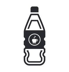 coffee bottle vector image