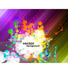 colorful flyer vector image vector image