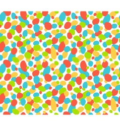 Seamless bright abstract pattern isolated on white vector