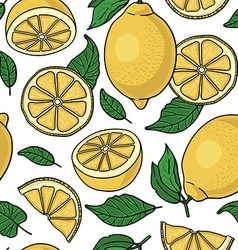 Lime pattern background vector