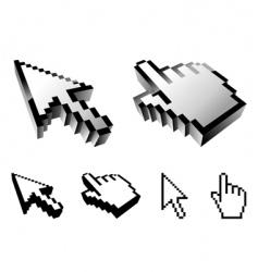 cursor designs vector image