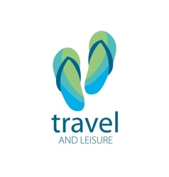 logo travel vector image