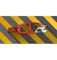 Car frame vector