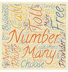 How To Get An Number For Your Business text vector image