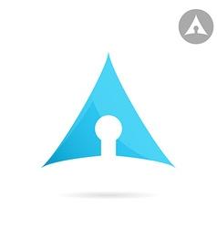 Keyhole icon vector