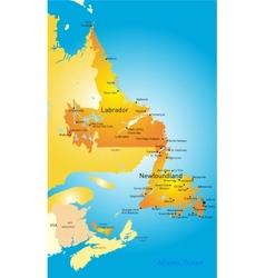 Newfoundland vector image vector image