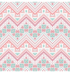 Tribal ethnic zig zag pattern vector
