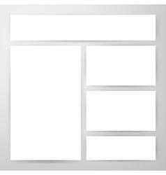 Brand Identity Flyers Mockup vector image