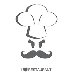 Restaurant 5 Chef character vector image