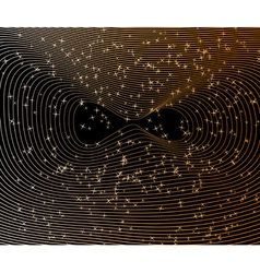 cosmic flight vector image vector image