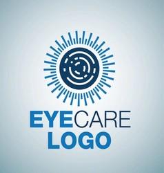 Eye care logo 7 vector