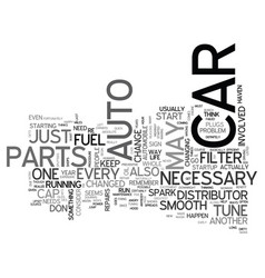 Which auto parts speed up your car text word vector