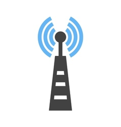 Telecom tower vector