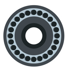bearing icon isolated vector image