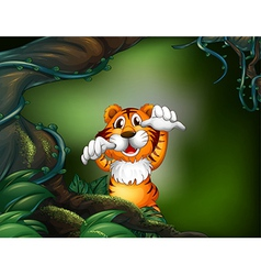 Cartoon Tiger vector image vector image