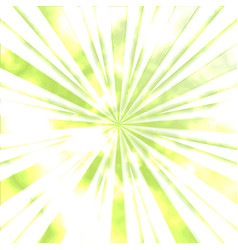 Greenery sun beams vector