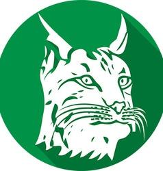 Lynx Icon vector image vector image