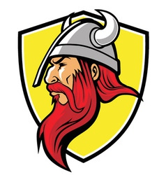 Viking mascot vector