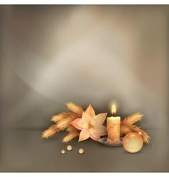 Christmas Celebration Background vector image vector image