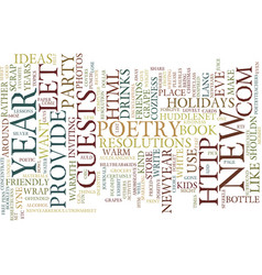 let your new year s be kind text background word vector image vector image