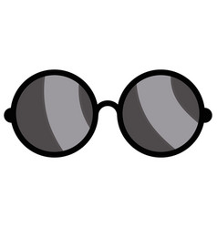 Sunglasses pair object vector