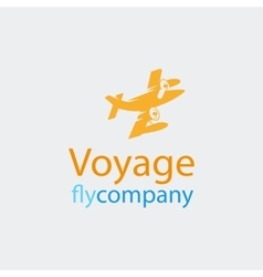 Travel logo icon vector