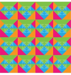Squares seamless colorful background design vector image