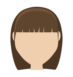 Girl cartoon icon vector
